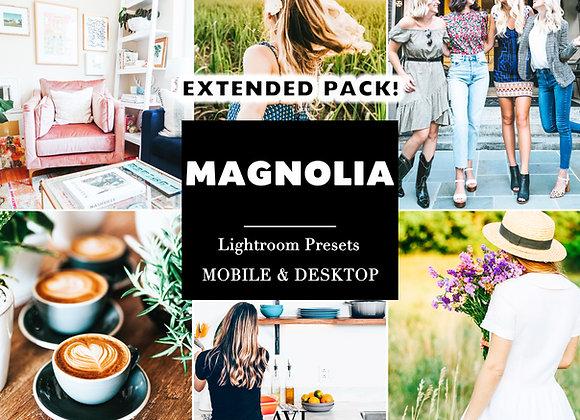MAGNOLIA Mobile & Desktop Preset *EXTENDED PACK*