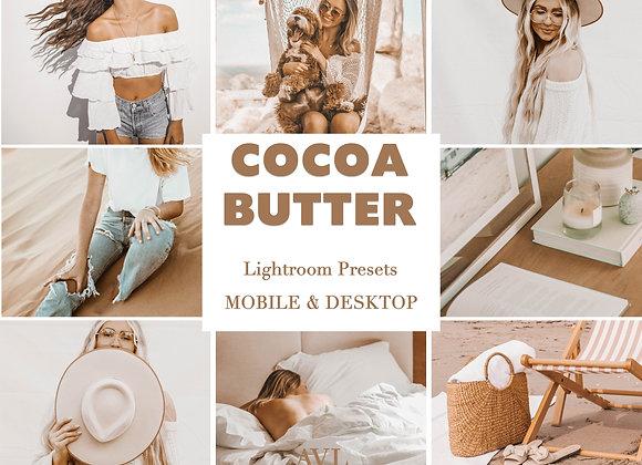 COCOA BUTTER Mobile & Desktop Preset