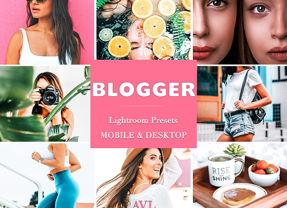 BLOGGER Mobile & Desktop Preset