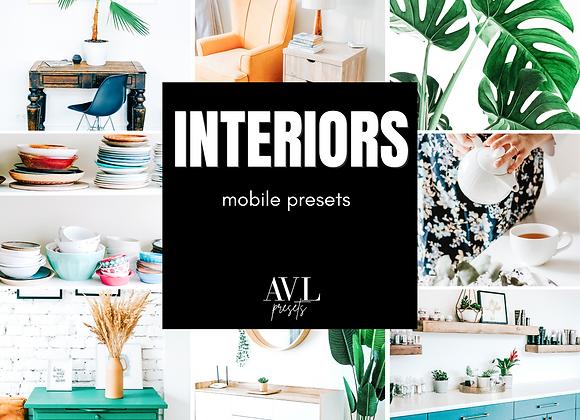 INTERIORS Mobile Preset