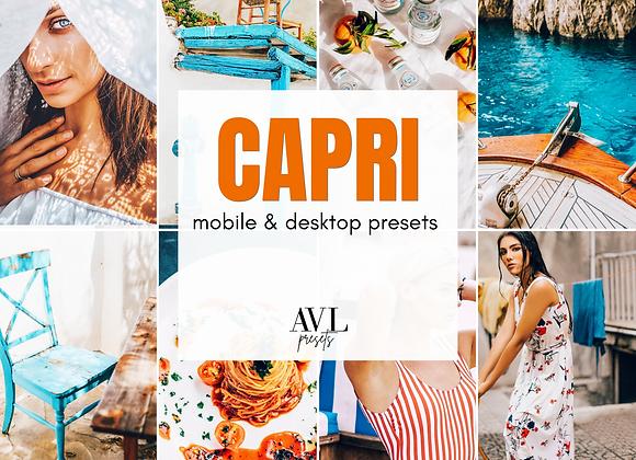 CAPRI Mobile & Desktop Preset