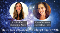 Transformational Channeling Day: Louise Kay and Karen Neumann, Amsterdam 1 October 2017