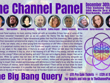 Pleased to announce I will be on this year's Channel Panel in Los Angeles
