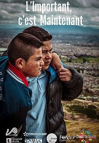 film l'important c'est maintenant paix solidarité non à la violence