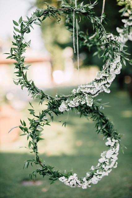 Wedding Flower Hoops