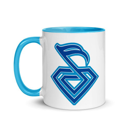 Diamond Mug with Color Inside