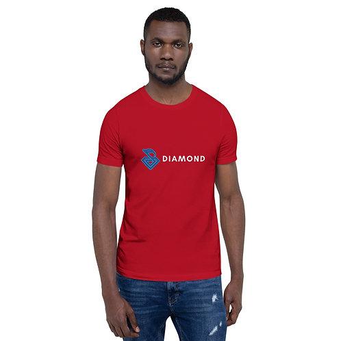 Diamond Short-Sleeve Unisex T-Shirt