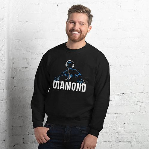 DJ and Diamond Unisex Sweatshirt