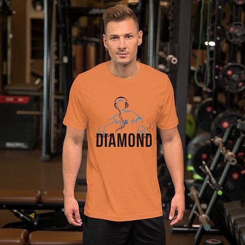 Dj and Diamond Short-Sleeve Unisex T-Shirt