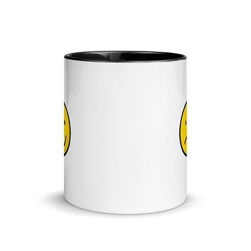 Emoji Mood Mug with Color Inside