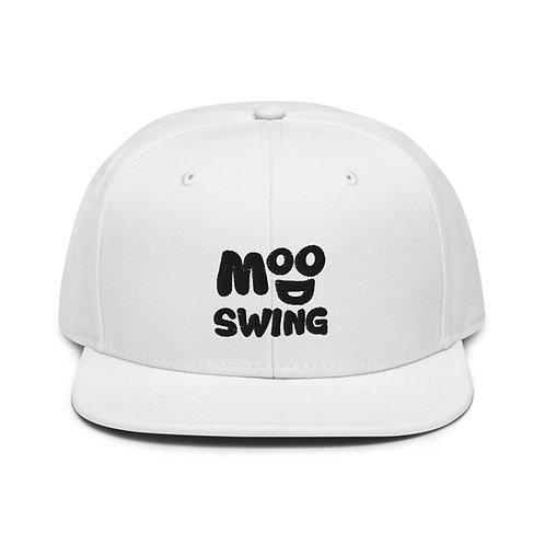 White Mood Swing Snapback Hat