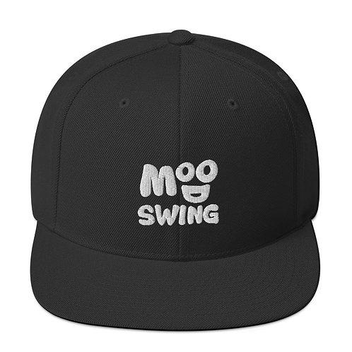 Mood Swing Black Snapback Hat