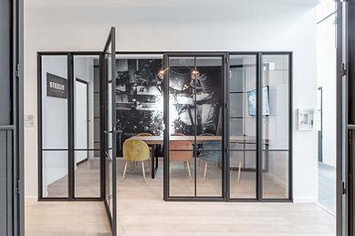 Steelit vergaderzaal showroom