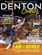 Cover of Denton County magazine July 18