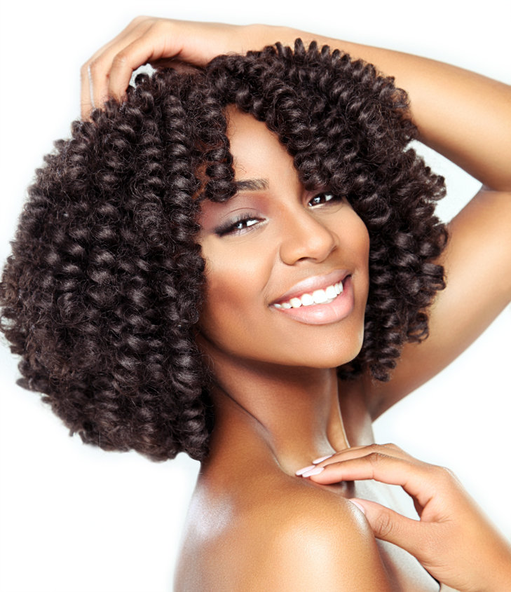 Crochet with Loose hair