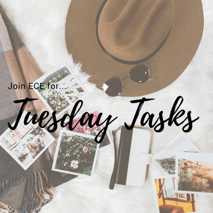 Tuesday Tasks & Inspiration