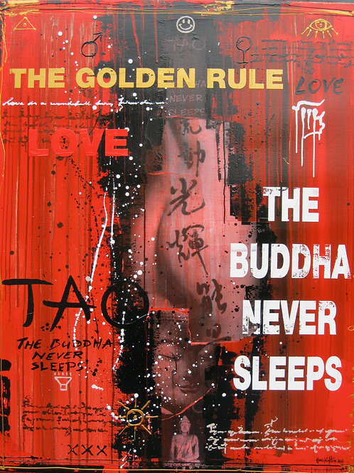 The Buddha Never Sleeps