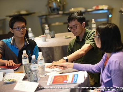 Third Successful PRINCIPLES OF PERSUASION (POP) Workshop