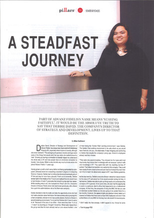 A Steadfast Journey