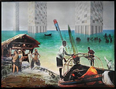 """3 torres // Vuelo del Fénix"" (2016)"