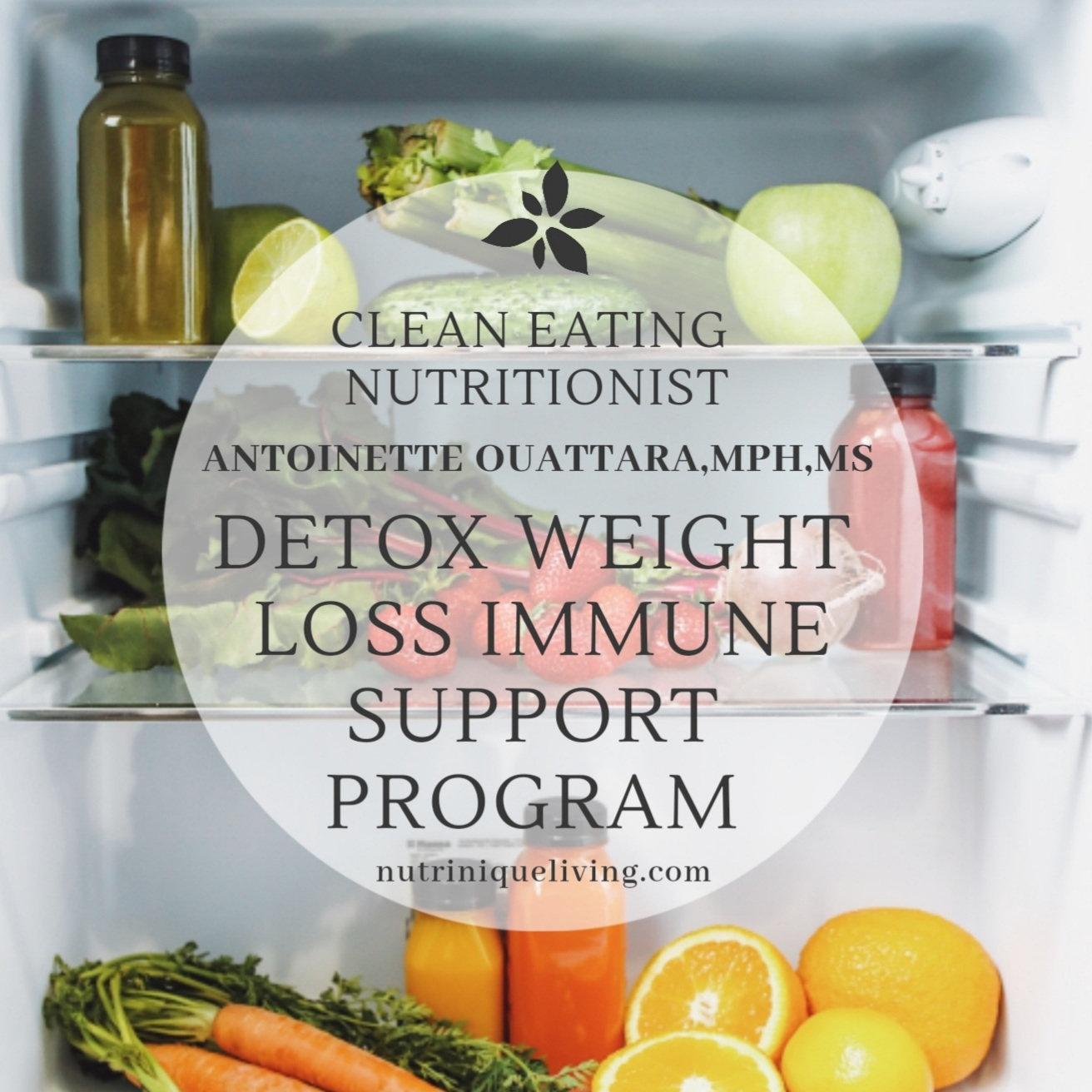 Detox Weight Loss Immune Support Program
