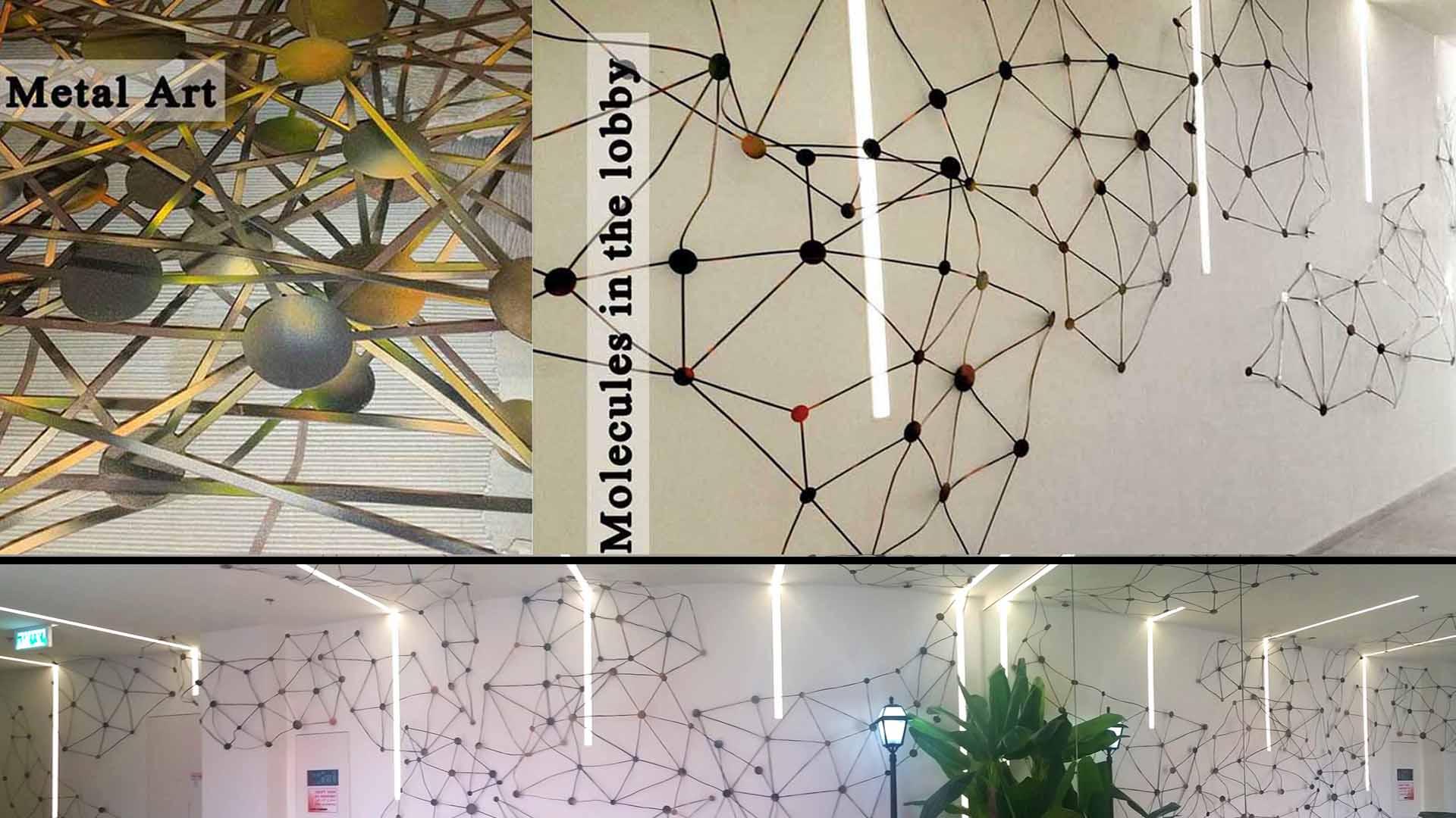 Medical company lobby.