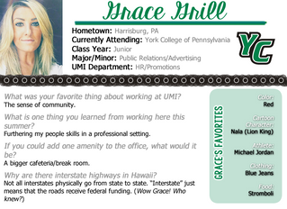 Intern Spotlight: Part 1 of 5