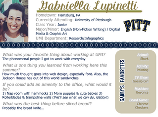 Intern Spotlight: Part 5 of 5
