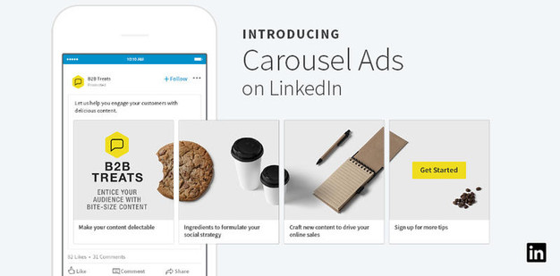 LinkedIn Introduces Carousel Ads