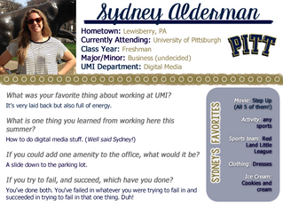 Intern Spotlight: Part 4 of 5