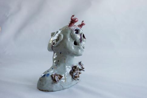 Unrelenting, Ceramic, 2017