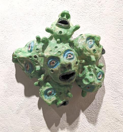 Frenzied, Ceramic, 2019