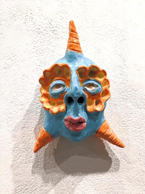 Serene, Ceramic, 2019