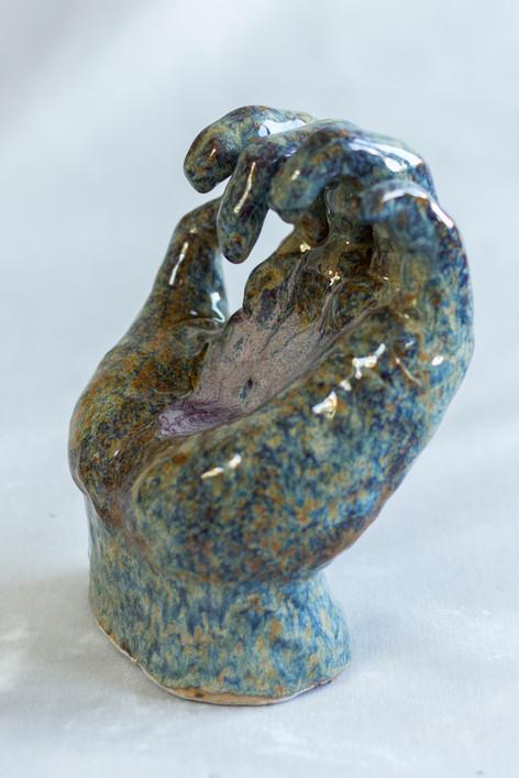 Cringe, Ceramic, 2017