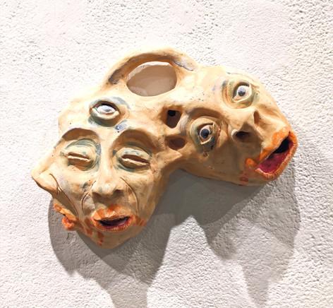 Schism, Ceramic, 2019