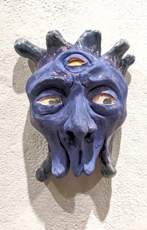 Suspicious, Ceramic, 2019