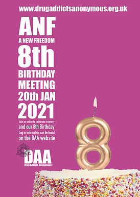 A NEW FREEDOM - 8th Anniversary