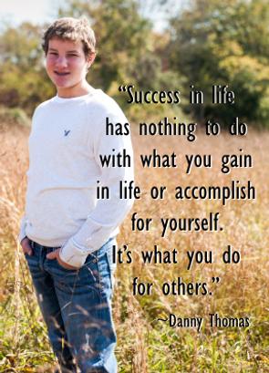 Colby Simkovic Childhood Cancer Survivor