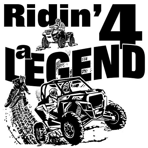 REGISTRATION - RIDIN' 4 A LEGEND