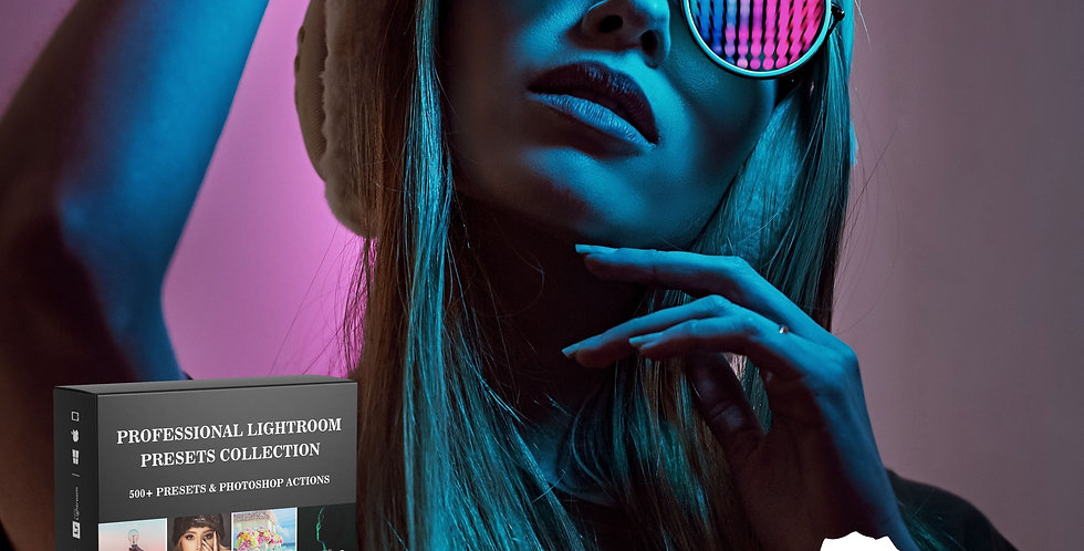 500+ Professional Lightroom Presets Collection