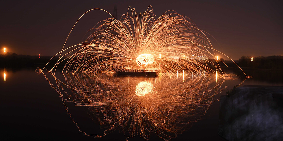 Capturing Rain of Fire through the Bank of Yamuna River