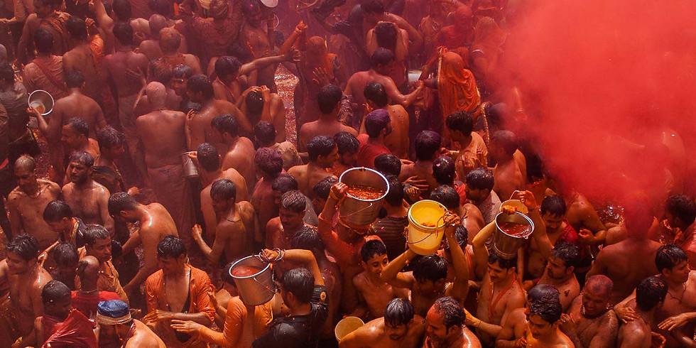 Mathura Holi Photo Tour