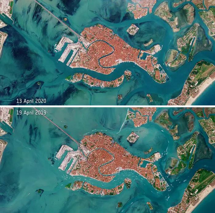 Venice Lagoons in quarantine