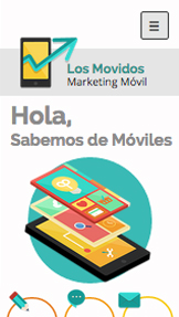 Tecnología y Apps website templates – Marketing móvil