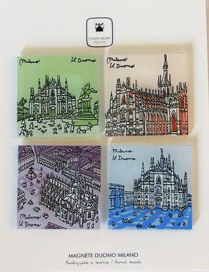 Magnete Duomo in vetro -  Multipack