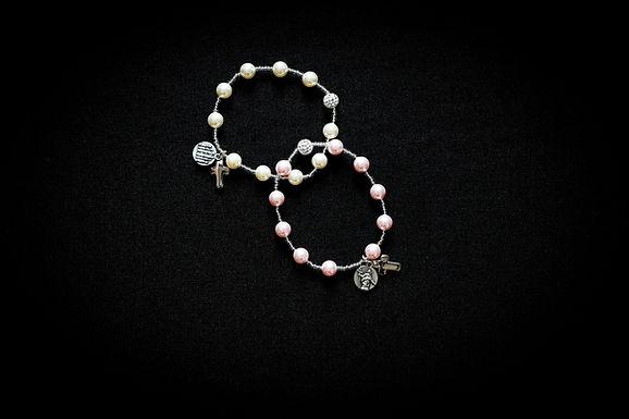 Bracciale decina perle Swarovski