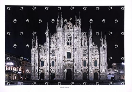 Stampa Duomo Notte