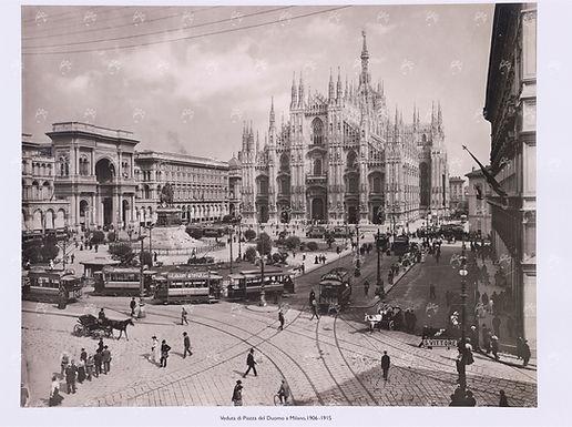 Stampa Veduta Piazza Duomo