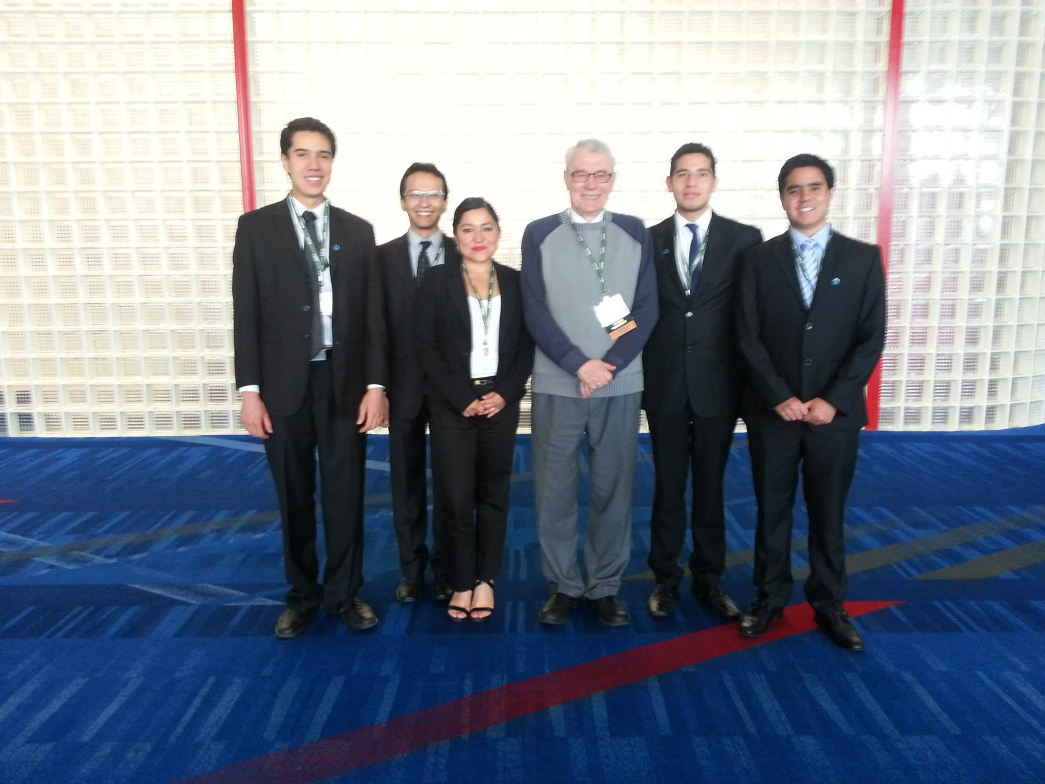 Con el Presidente AAPG Europe Region