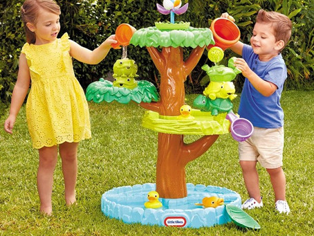 Little Tikes Magic Flower - water table with blooming flowers and 10 accessories